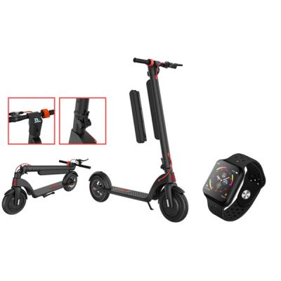 FOR ALL FX 8 Electric Foldable scooter with F9 smartwatch-LSP