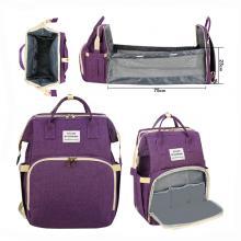 2 In 1 Diaper Bag Purple GM276-3-pur-LSP