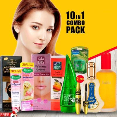 10 in 1 Ladies Beauty Combo Pack-LSP