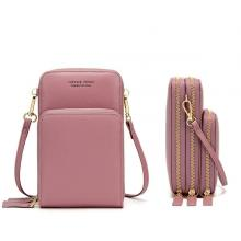 Forever Young Multifunctional Crossbody and Shoulder Bag For Women,Pink-LSP