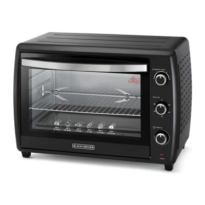 Black+Decker 70l Toaster Oven W/ Dbl Glass And Rotisserie TRO70RDG-B5-LSP