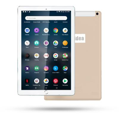 10 in 1 C idea 10 Inch Dual Sim Tablet 64GB, Gold