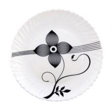 Royalford RF6102 Opal Soup Plate Art Flower, 8.5 Inch -LSP