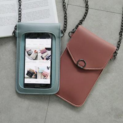 GO LIFE Hot Selling Touchscreen Waterproof Ladies Designer Leather Wallet-LSP