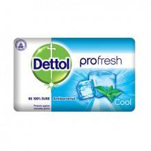Dettol Profresh Cool Antibacterial Bar Soap, 130 g-LSP