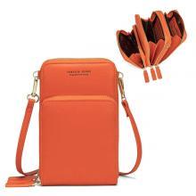 Forever Young Multifunctional Crossbody and Shoulder Bag For Women, Orange-LSP