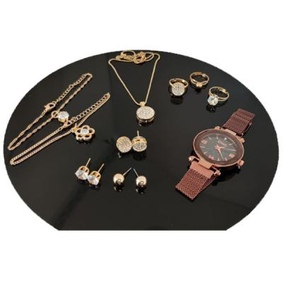 SIGNATURE COLLECTION 10 IN 1 JEWELLERY SET SK0405-LSP