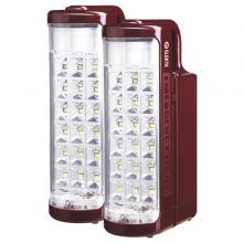 Elekta ELEDE-F-6007 Rechargeable 2 Lanterns Combo Pack With 24 SMD LED Lights-LSP