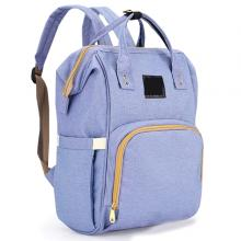 Diaper Bag Backpack and Multifunction Travel Backpack, Water Resistance and Large Capacity, Purple Blue-LSP