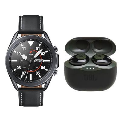 Samsung Galaxy Watch3 Bluetooth (45mm) R840 Black With Free JBL Tune 120 TWS03