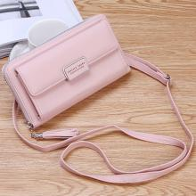 Forever Young Purse Fashion Wallet Korean Style 2 In 1 Slings Bag And Purse, Pink-LSP