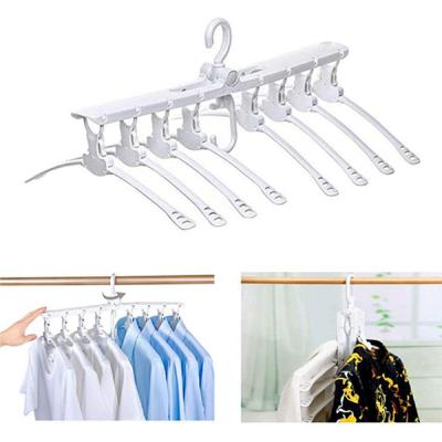 GO HOME Best selling 8 in 1 space saving clothes hanger-LSP