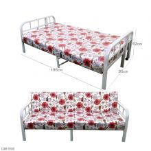 Multifunction Sofa With Bed Metal Frame Red GM558-r-LSP
