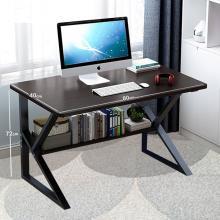 Small Laptop Desck With Shelf Black GM549-6-bl-LSP