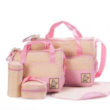 5 In 1 Multifunctional Baby Diaper Bag GM276-4-LSP