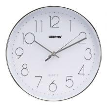 Geepas GWC26011 Wall Clock With 3D Silver Dial-LSP