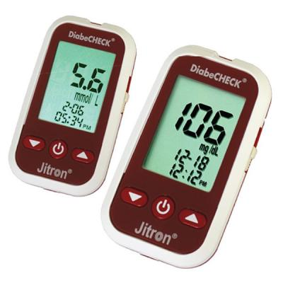 Jitron DiabeCHECK Blood Glucose Monitoring System 25 strips-LSP