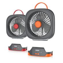 Clikon CK2216 3000Mah Rechargeable Mini Table Fan With LED-LSP