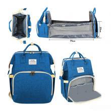 2 In 1 Diaper Bag Blue GM276-3-b-LSP