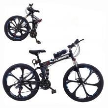 Aluminium Hummer 24 Inch Bicycle Black GM52-bl-LSP