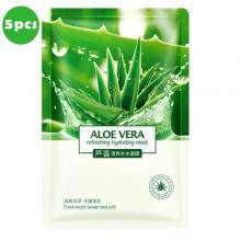 Aloe Vera Facial Mask 5 In 1 Pack-LSP