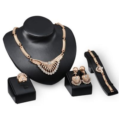 High Quality 4 in 1 Women Fashion Jewelry Set-LSP
