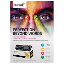 Toucan Yellow Toner Cartridge Compatible with Hp CB542A/CE322A/CF212A -LSP