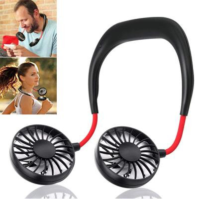 GO LIFE Hands Free Portable Neckband Dual USB Fan-LSP