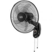 Black+Decker 16 Inch Wall Fan FW1620-B5-LSP