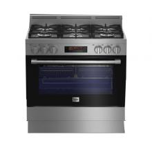 BEKO Free Standing Cooker Multi-functional, 90 cm GM16425DXNG-LSP