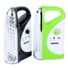 Geepas GE5559 2 IN 1 Rechargeable LED Emergency Lantern with USB Mobile Charging Output-LSP