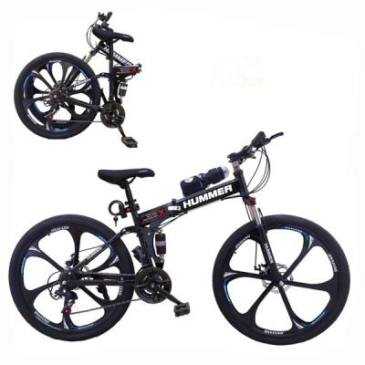 Aluminum Hummer 26 Inch Bicycle Black GM53-bl-LSP