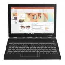 Lenovo Notebook Yoga YB-J912F 10.8 Inch 4GB Ram 256GB HDD Core i5-7Y54 Integrated Intel HD Graphics 615 Windows 10 Iron Grey (ZA3S0084AE)-LSP