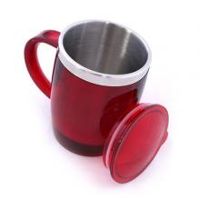 Royalford RF6154 Stainless Steel Travel Mug, 14oz -LSP