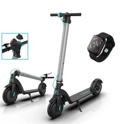 FOR ALL FX 7 Electric Foldable scooter with F9 smartwatch-LSP