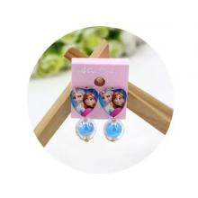 Childrens Cartoon Pierced Earrings Blue -LSP
