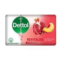 Dettol Profresh Revitalise Antibacterial Bar Soap, 130 g-LSP