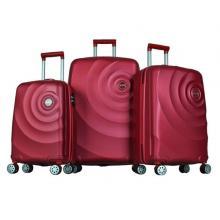 Platinum 1GR0106353-034 Travel Bag Dribble 3 Set, Red-LSP