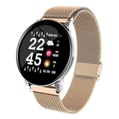 W8 smart Watch For Women And Men 2020 gold-LSP