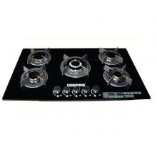 Geepas GGC31011 5 Burner Gas Stove with Tempered Glass Top-LSP