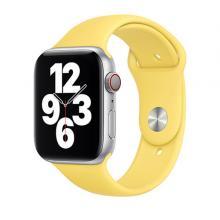 Apple Watch Strap 44mm Sport Band Regular, Yellow-LSP