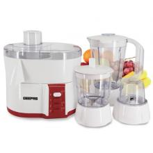 Geepas GSB9890 4 In 1 Multi Function Food Processor Electric Blender Juicer, 2-Speed With Pulse Function & Safety Interlock 600w-LSP