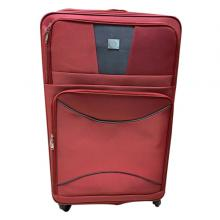 QTS 20-Inch Travelling Trolley Bag, Red-LSP
