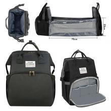 2 In 1 Diaper Bag Black GM276-3-bl-LSP