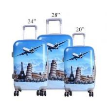 British Life High Quality 20 Inch Small Hard Travel Trolley-LSP