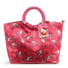 Hello Kitty High Quality Waterproof Round Mouth Handbag-LSP